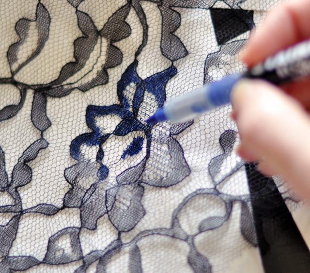 Узоры на ткани в домашних условиях