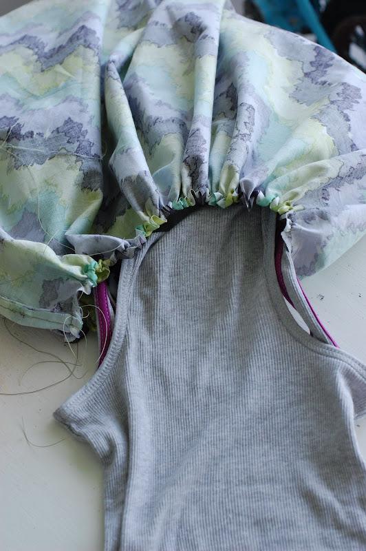 Сшить простое летнее платье с выкройкой