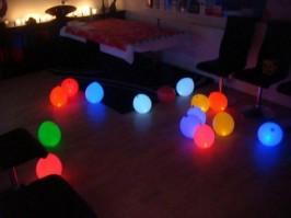 как сделать светящийся шар
