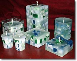 свеча из кубиков