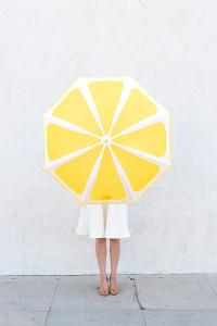 зонт долька лимона