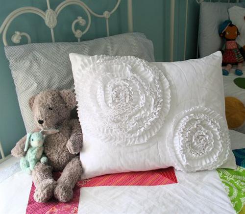 Наволочки на подушки своими руками фото