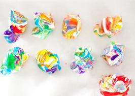 покраска яиц темперной краской
