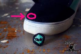 чем заделать дырку в обуви