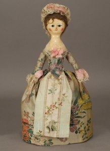 кукла пандора Франция 17век
